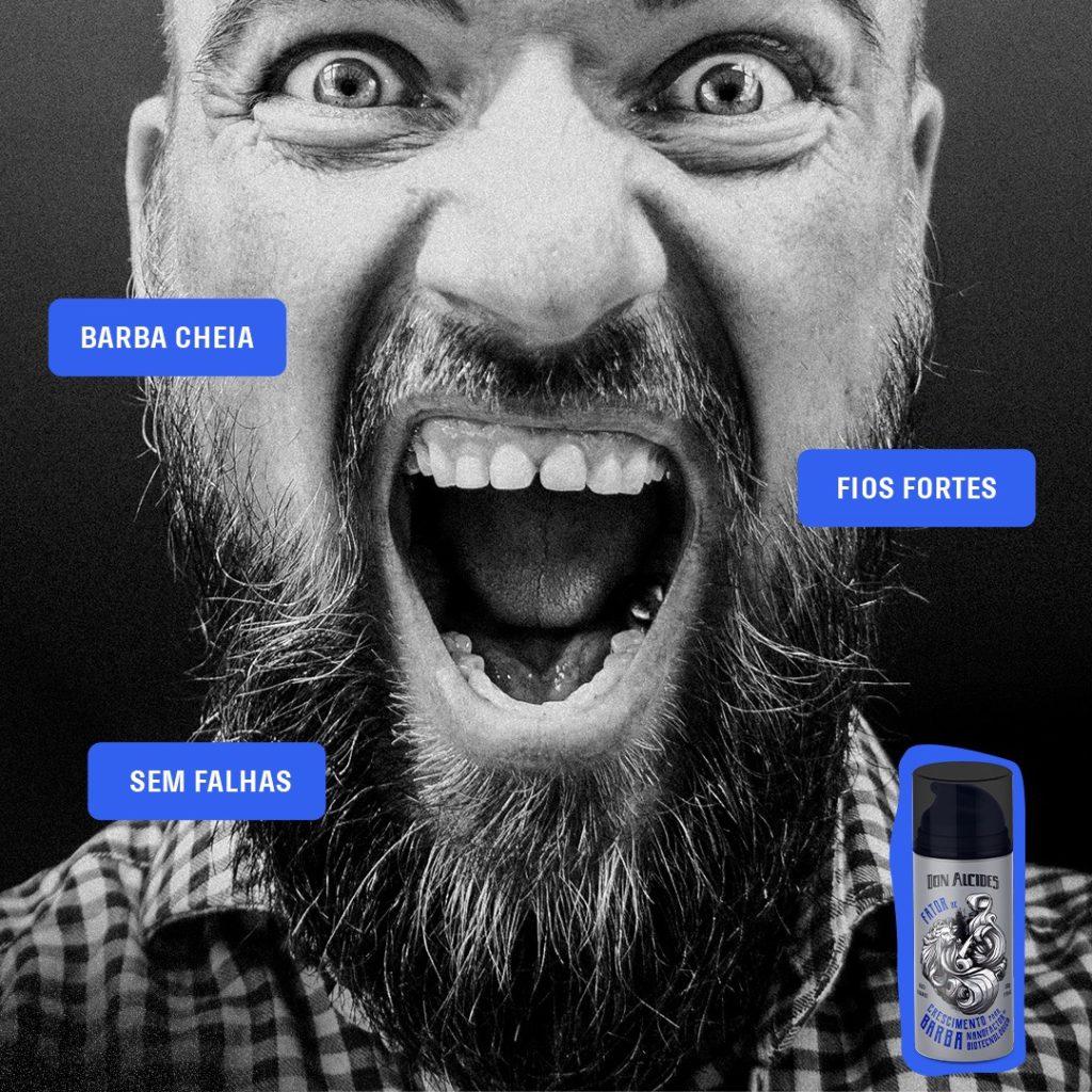 Fator de Crescimento barba Don Alcides