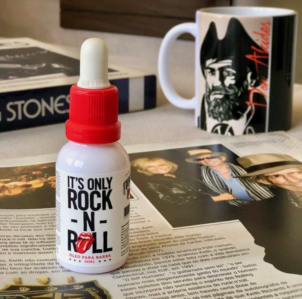 oleo para barba Rolling Stones