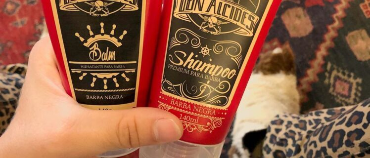 Shampoo e Balm para Barba