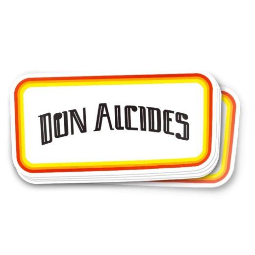 Sticker Don Alcides California Sun