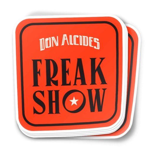 Sticker Podcast Don Alcides Freak Show