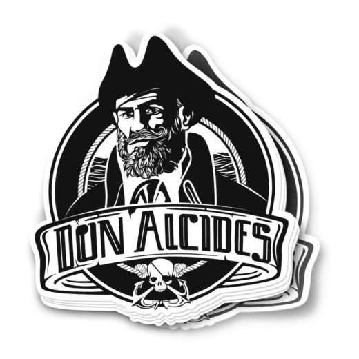 Sticker Super Classic Don Alcides