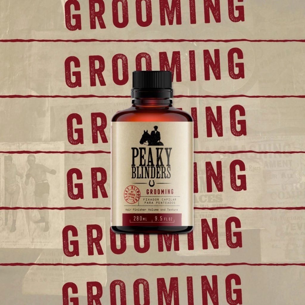 Grooming peaky blinders Don Alcides