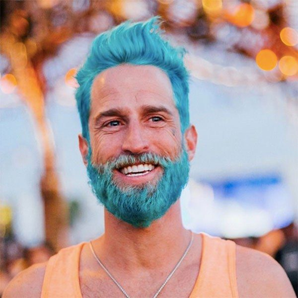 barba pintada