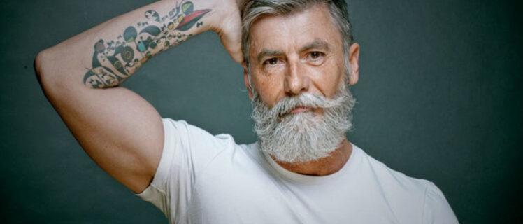 barba pintada: aprenda como pintar a barba
