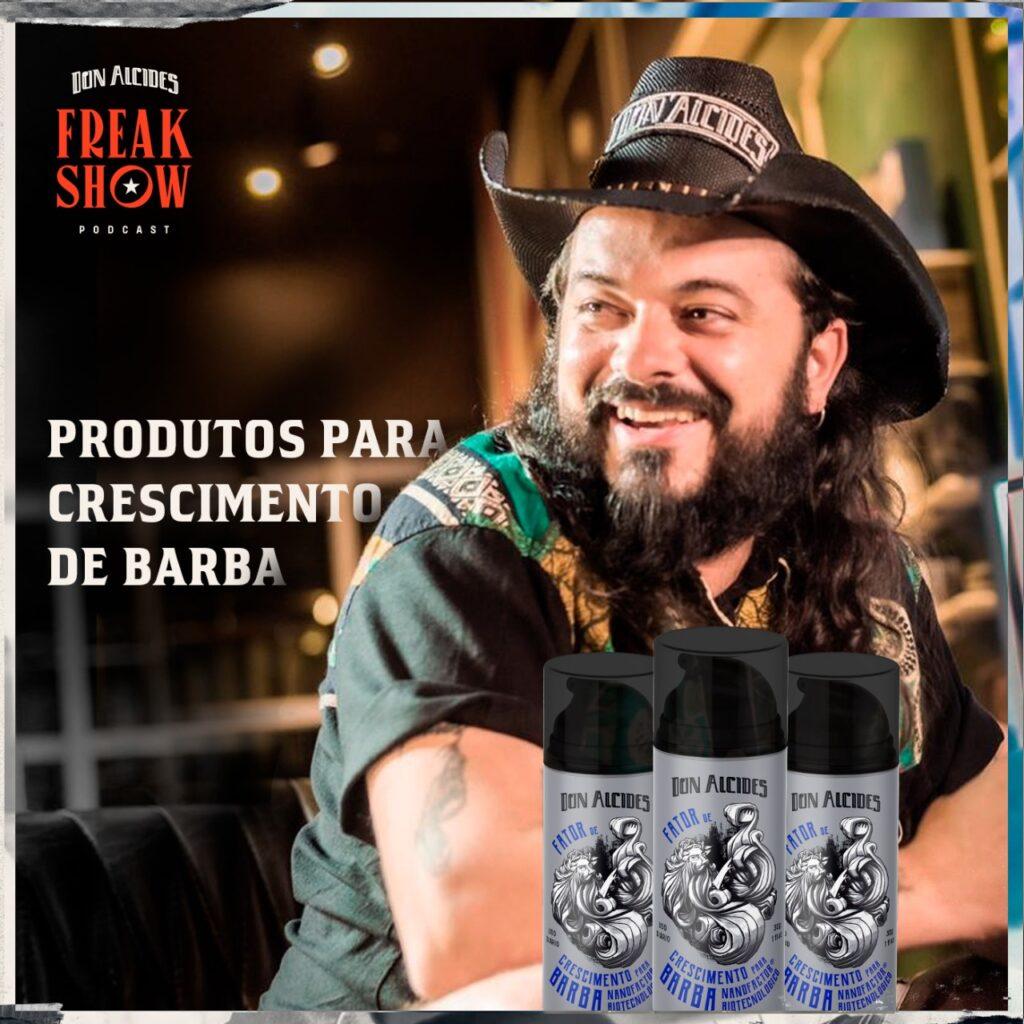 produtos para crescimento de barba