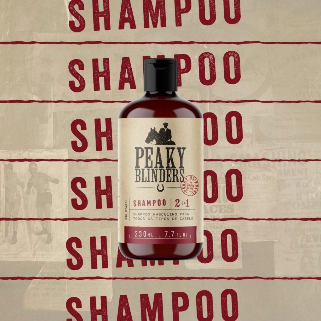 shampoo para cabelo masculino peaky blinders