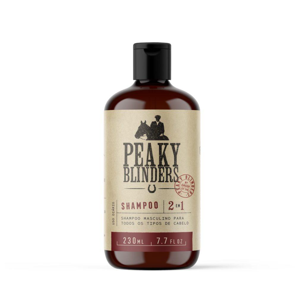 Shampoo para cabelo masculino Peaky Blinders Don Alcides