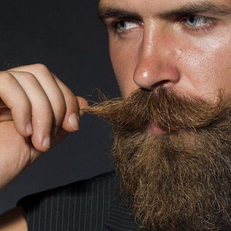 barba enrolada