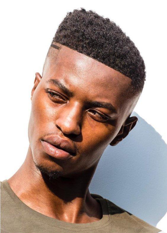 Corte de cabelo masculino assimetrico