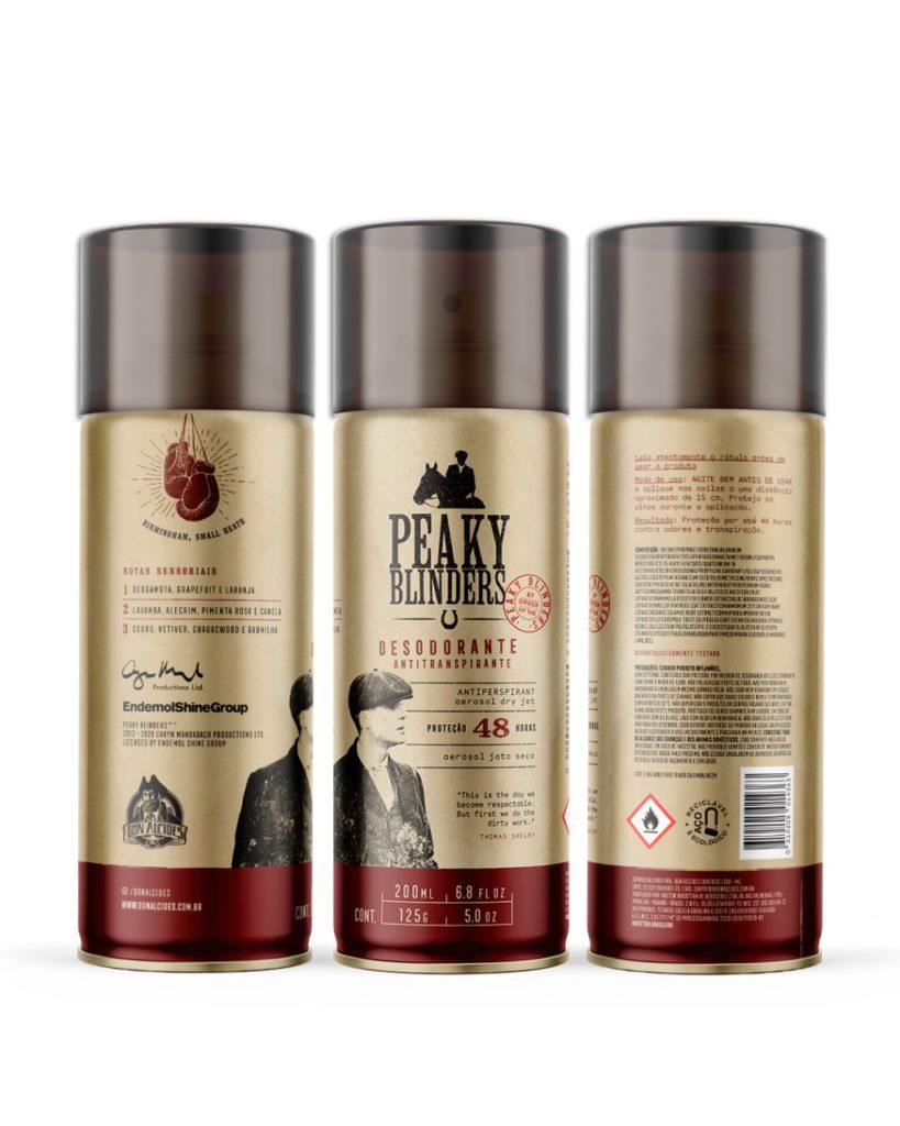 Desodorante Antitranspirante Aerosol Dry Jet Peaky Blinders