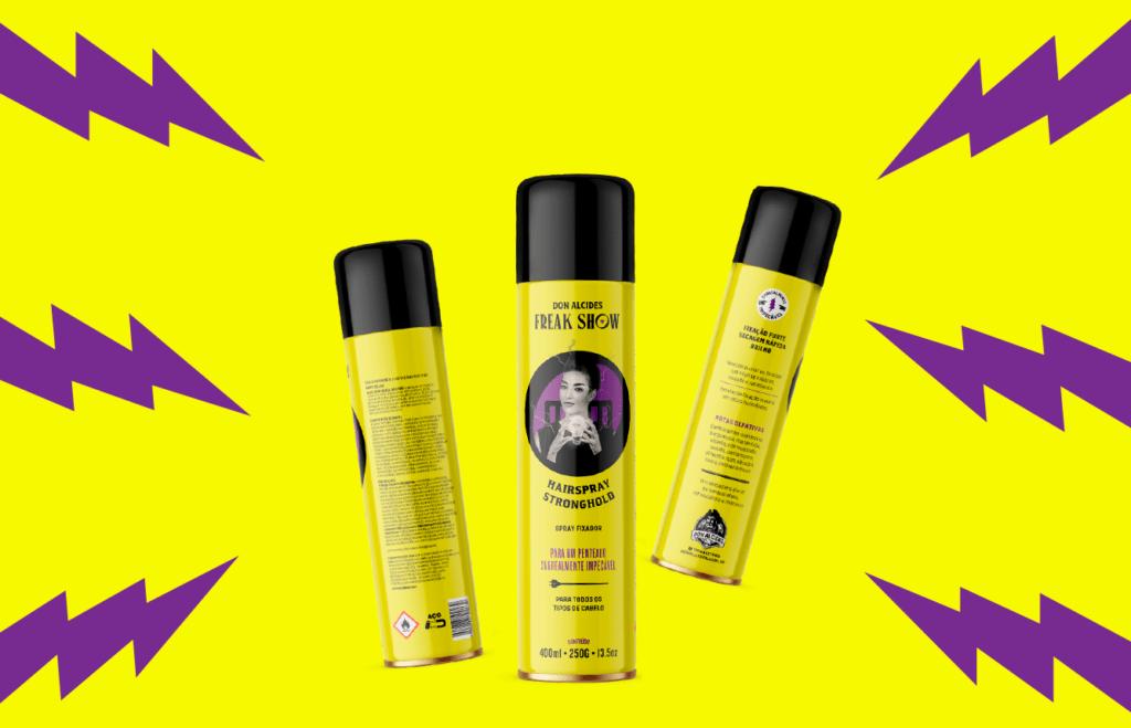 Hairspray fixador