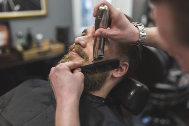 manutenção barba espartana