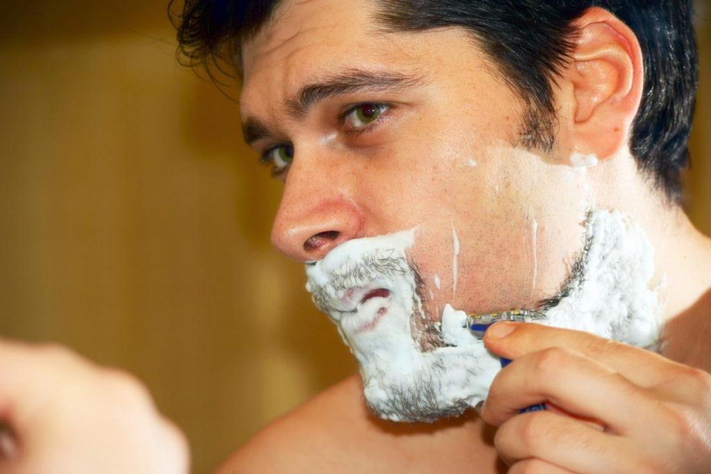 lamina de barbear