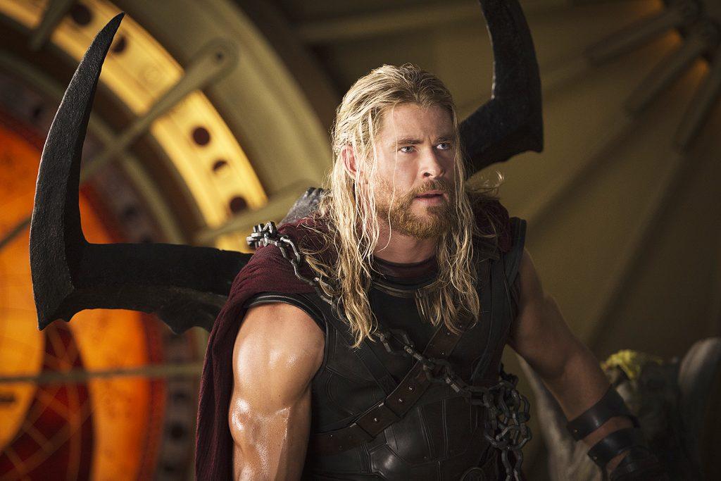 A barba de Thor Ragnarok