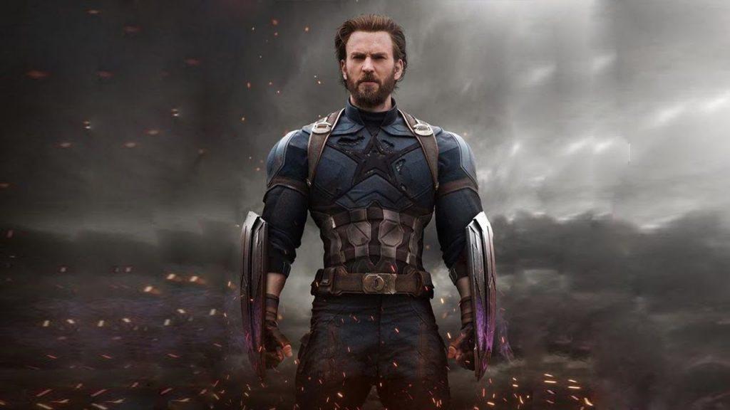 A barba do Capitão América em Guerra Infinita