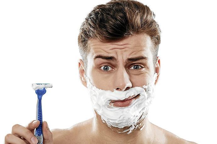barba no banho