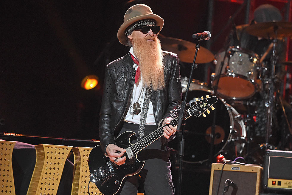 barbas do rock - Billy Gibbons