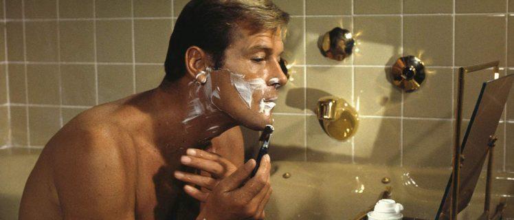 barbear no banho