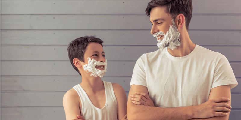 cultivando a barba na adolescencia
