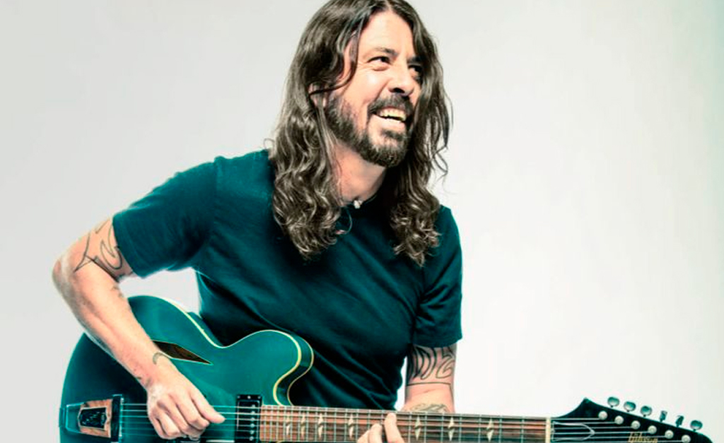 Dave Grohl barba