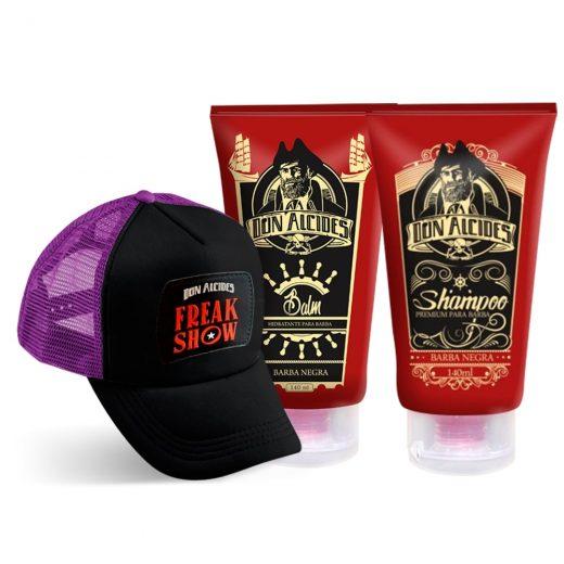 kit shampoo e balm don alcides