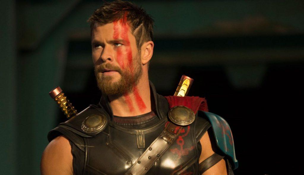 Thor Ragnarok cabelo curto