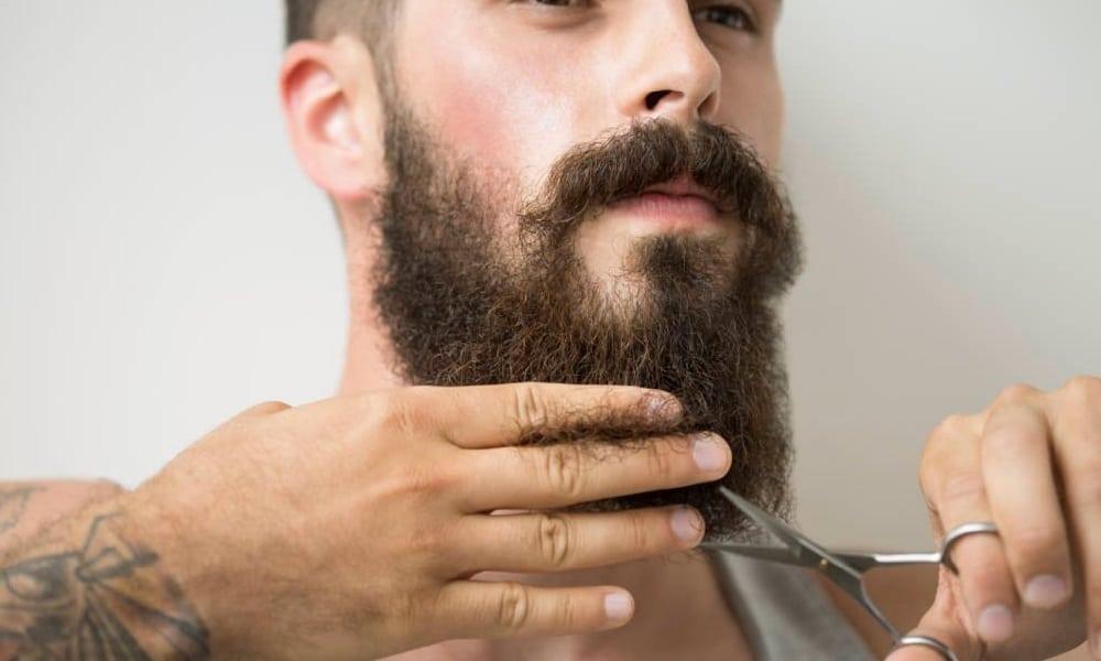 como aparar a barba em casa
