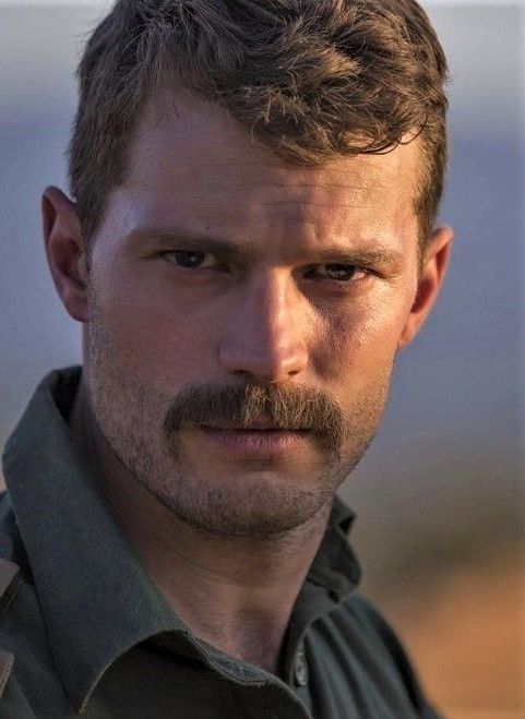 Jamie Dornan Beardstache