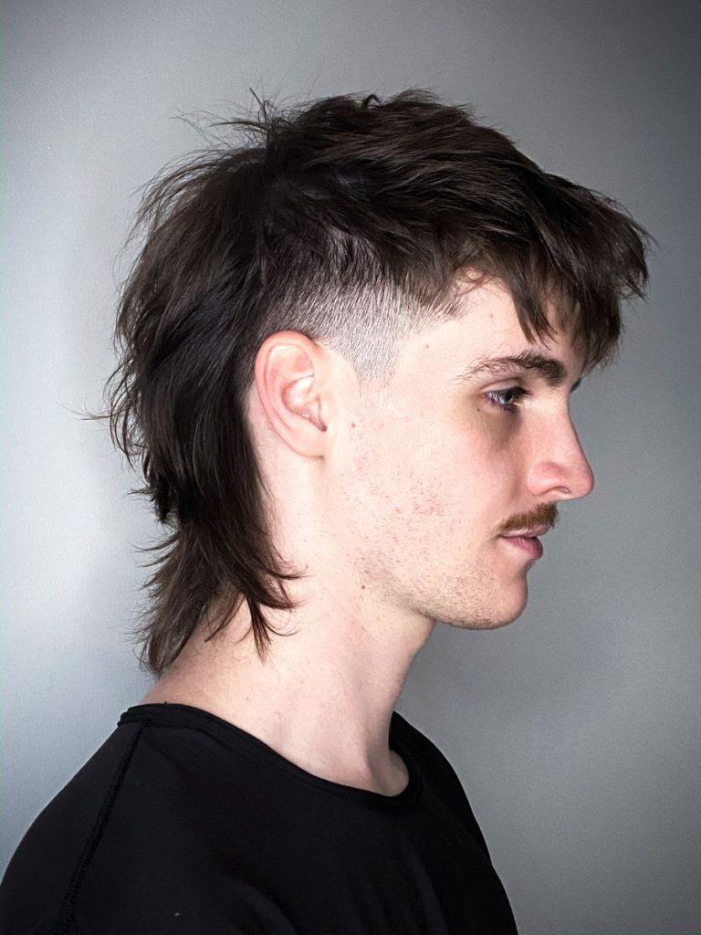 mullet cabelo