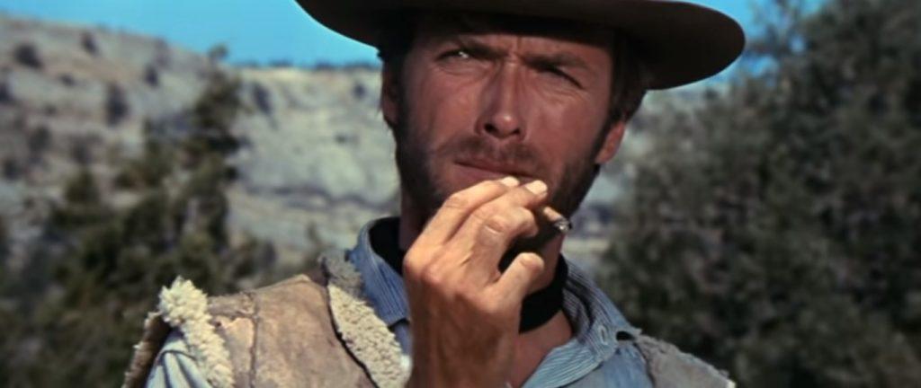 O bigode de Clint Eastwood em Três Homens em Conflito