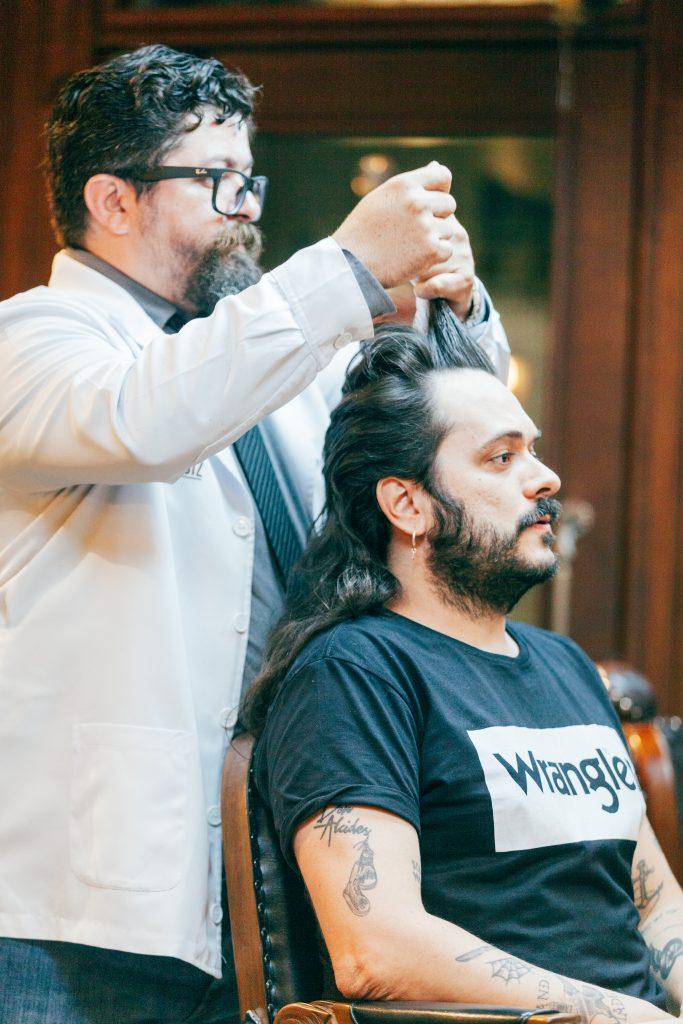 penteado mullet