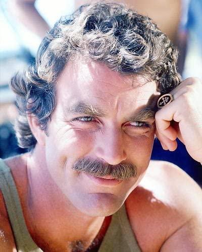 Tom Selleck bigode
