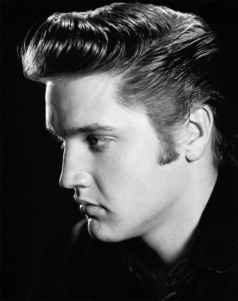 Elvis Presley Pompadour