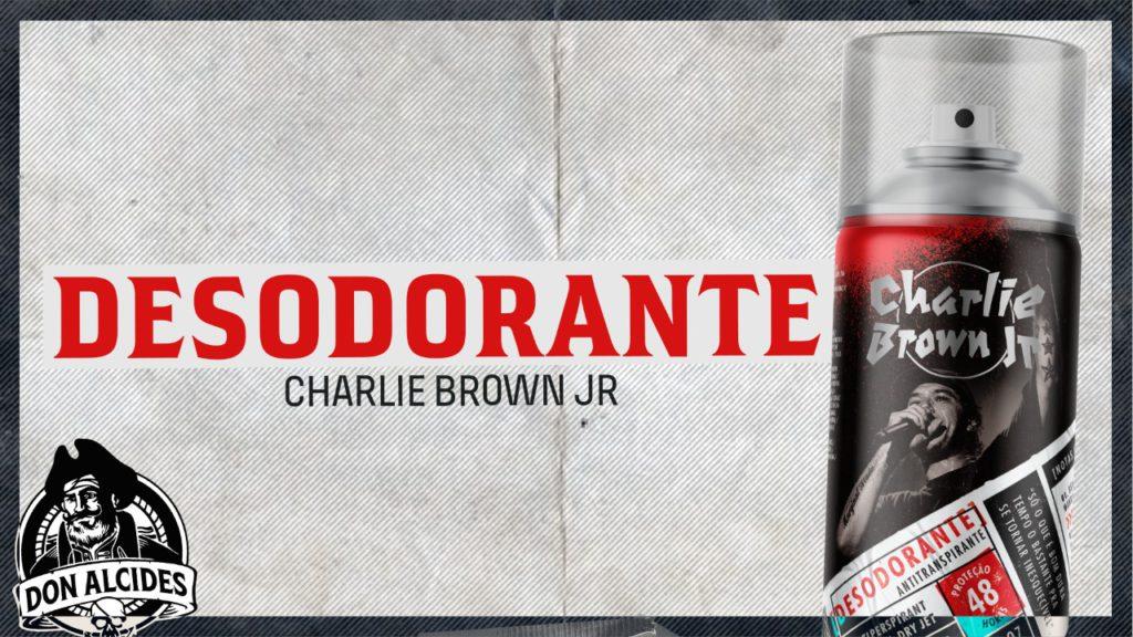 Desodorante Charlie Brown Jr