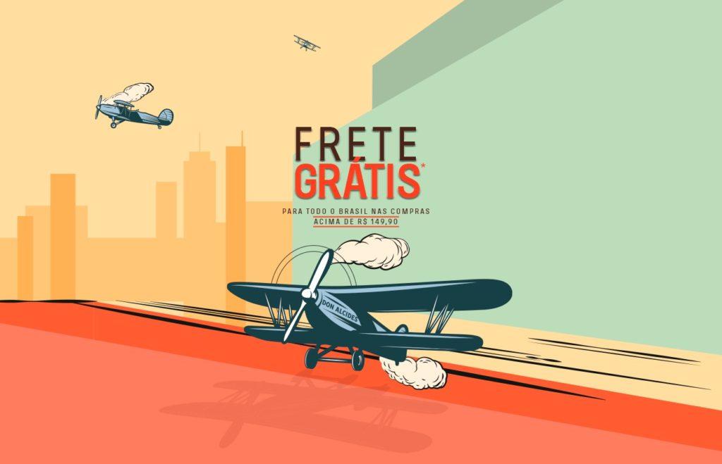 FRETE GRATIS DON ALCIDES
