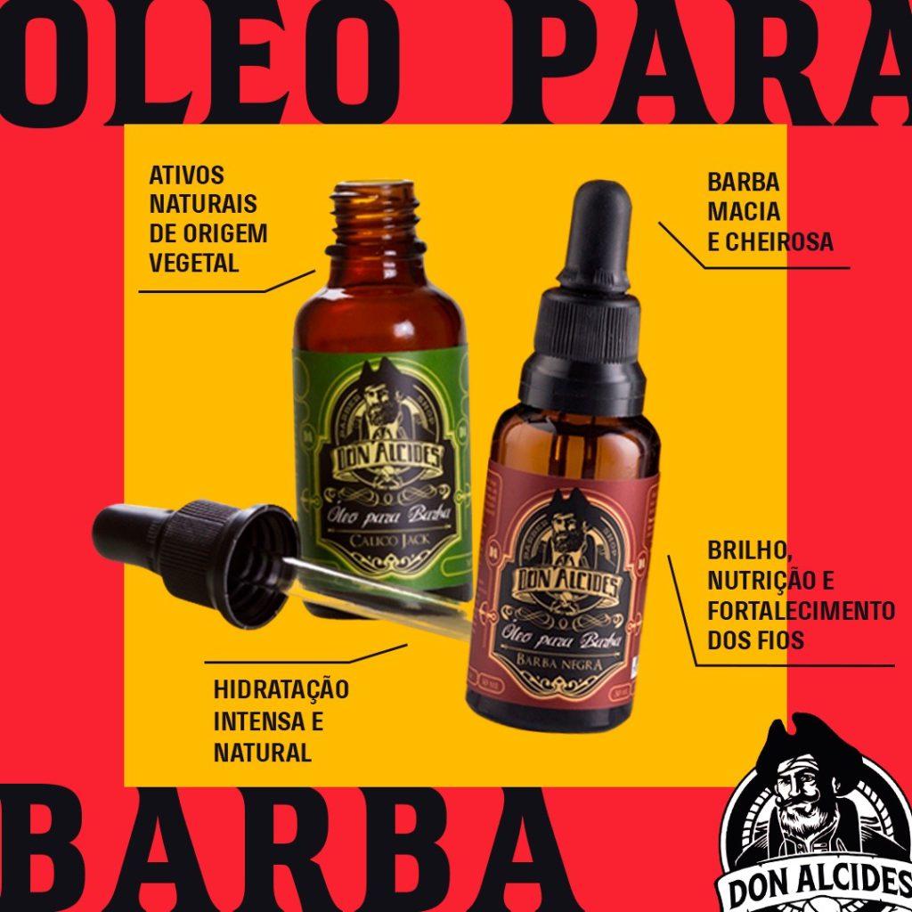 para que serve o óleo para barba