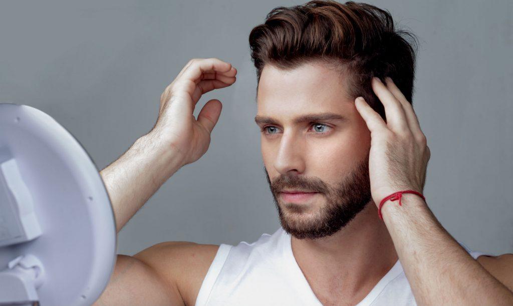 pomada de cabelo masculino