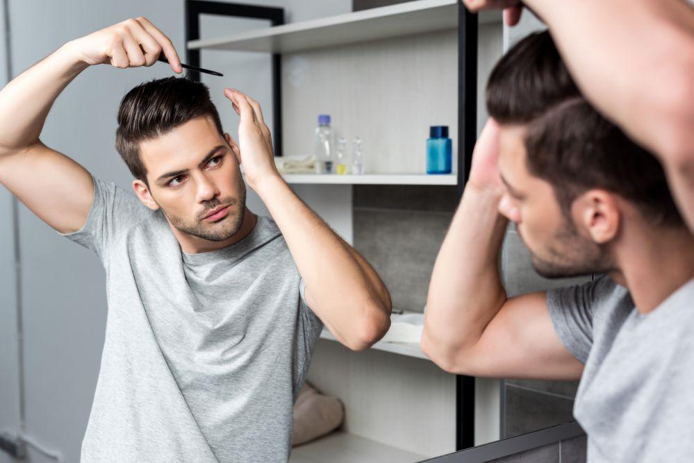 pomada modeladora para cabelo masculino