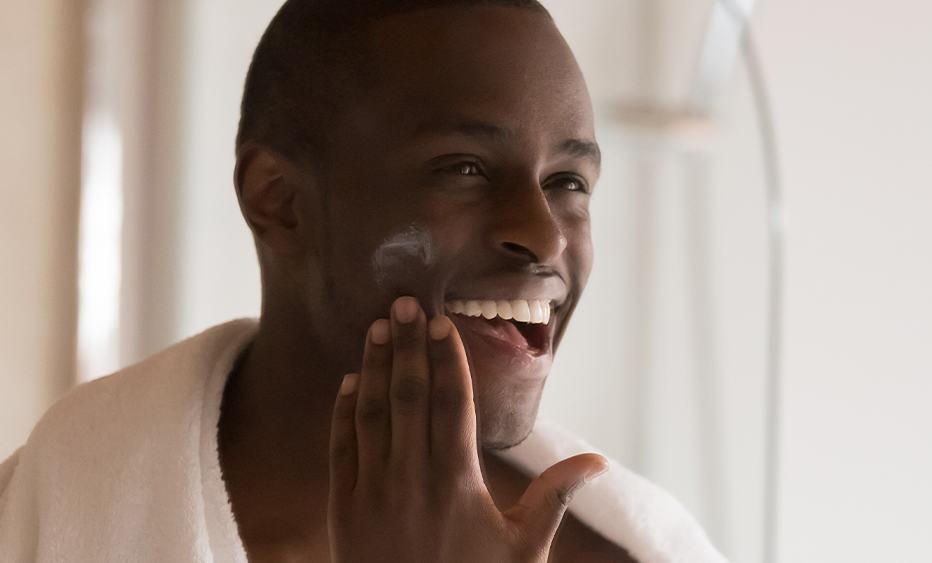 rotina de skincare para homens