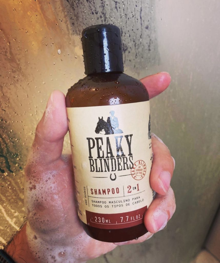 Shampoo para Cabelo Masculino